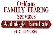 Logo for Orleans Family Hearing Services d'Audiologie familiale