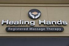 Logo for Healing Hands Registered Massage Therapy