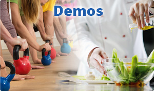 Health Wellness Demos