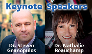 Dr. Steven Geanopulos and Dr. Nathalie Beauchamp