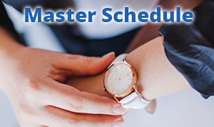 Health Expo Master Schedule